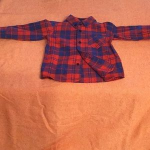 Andy & Evan flannel shirt